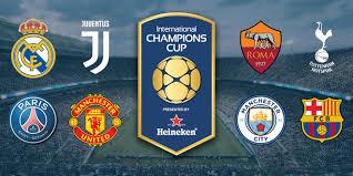 International Champions Cup Schedule Set