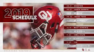 Oklahoma Sooners schedule 2019